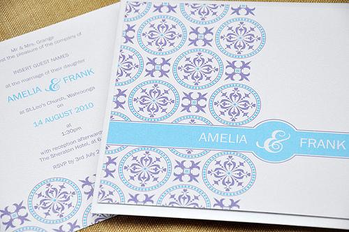 Embellish Wedding Invitation by mini Moko