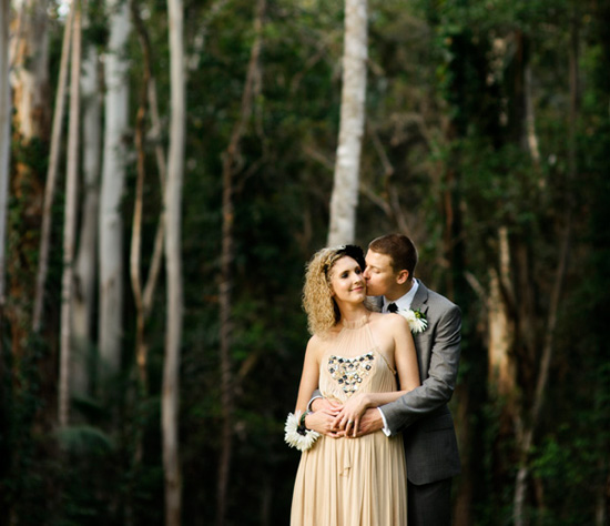Chic Noosa Wedding Laura Jacob2 3 Laura and Jacobs Chic Noosa Wedding
