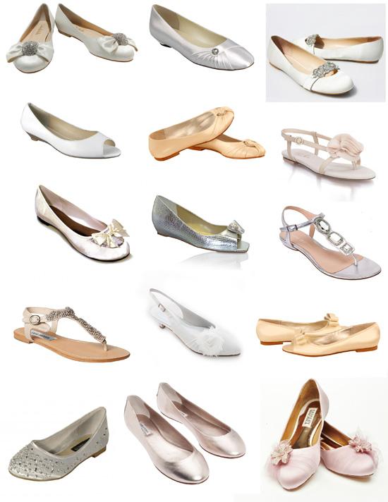 Fantastic Flat Bridal Shoes Polka Dot Bride
