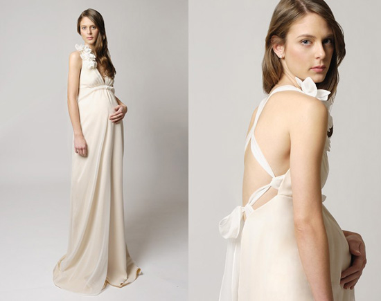 Maternity Wedding Gowns001 Tina Mak Maternity Bridal Gowns