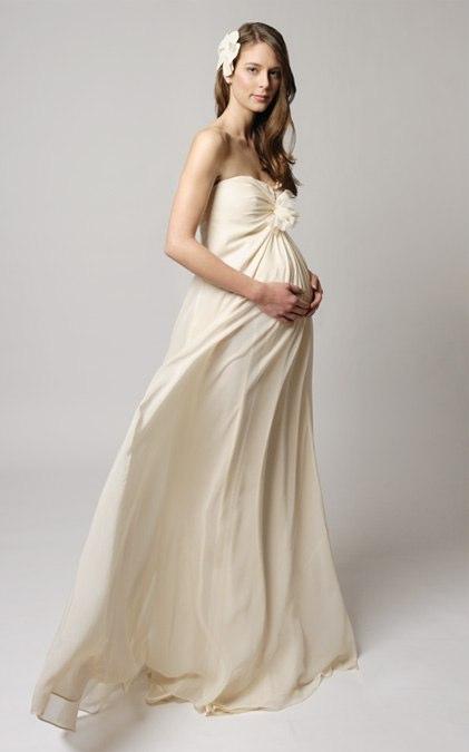 Tina Mak Maternity Bridal Gowns Polka Dot Bride