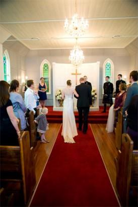 bride at la trobe chapel brisbane
