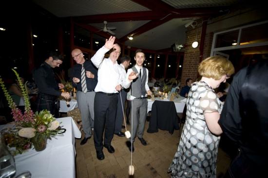 dance floor at eves restaurant