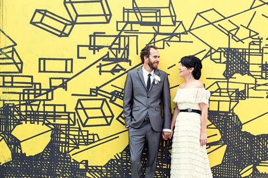 sydney retro wedding002 Kate and Matts Sydney Retro Inspired Wedding