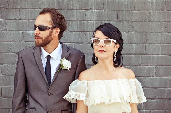 sydney retro wedding003 Kate and Matts Sydney Retro Inspired Wedding