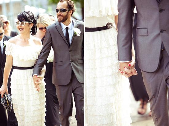 sydney retro wedding013 Kate and Matts Sydney Retro Inspired Wedding
