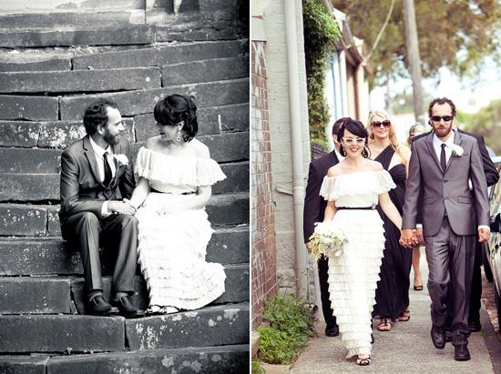 sydney retro wedding014 Kate and Matts Sydney Retro Inspired Wedding