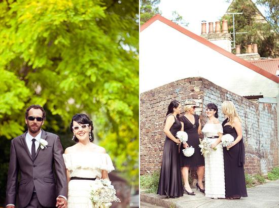 sydney retro wedding015 Kate and Matts Sydney Retro Inspired Wedding