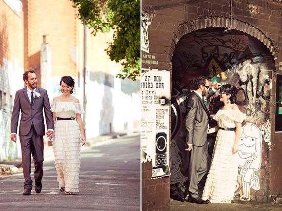 sydney retro wedding018 Kate and Matts Sydney Retro Inspired Wedding
