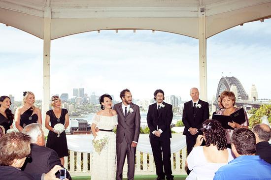 sydney retro wedding025 Kate and Matts Sydney Retro Inspired Wedding