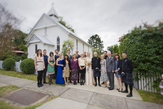 wedding at la trobe chapel