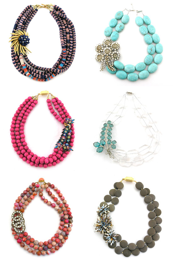 Elva Fields Bold and Bright Necklaces Bold And Colourful Necklaces By Elva Fields