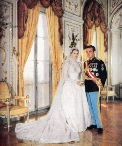 Grace Kelly to Prince Rainier III