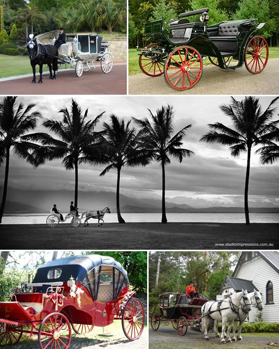 Horse Drawn Carriage Australia Royal Wedding Style Inspiration