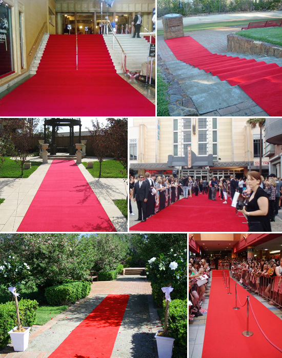 Red Carpet Hire Australia Royal Wedding Style Inspiration