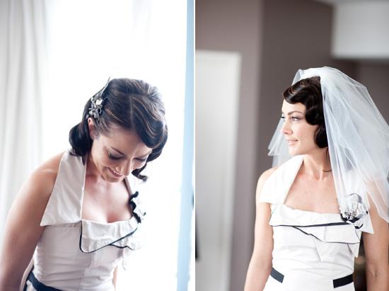 Retro wedding hair style Wedding Hair Inspiration Elegant Down Hair Styles