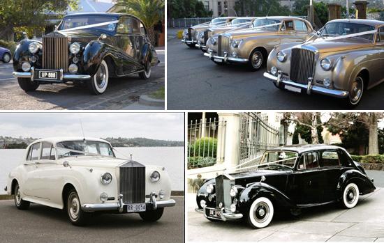 Rolls royce wedding car Royal Wedding Style Inspiration