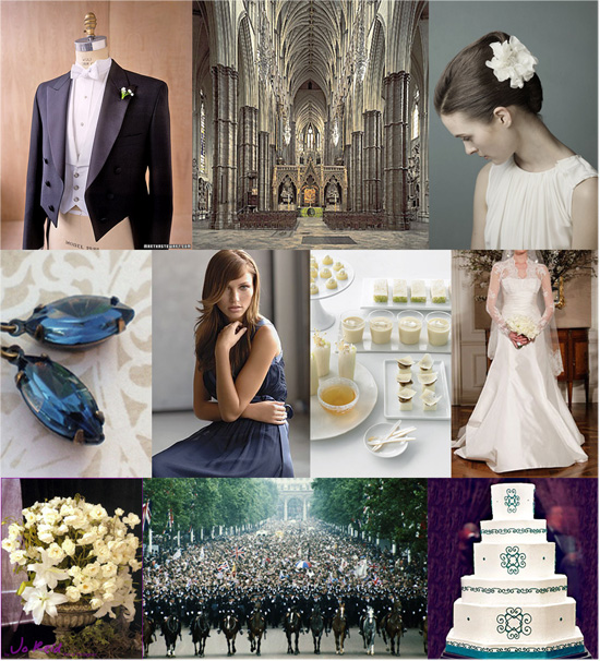 Royal Wedding Inspiration Board A Royal Wedding
