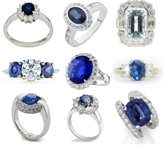 Sapphire Engagement Rings Australia Royal Wedding Style Inspiration