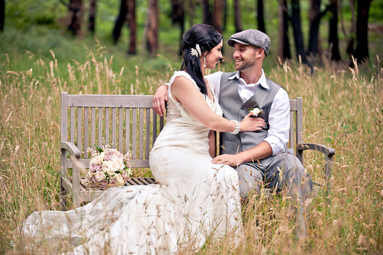 vintage inspired australian wedding024 Sigourney and Andrews Vintage Inspired Australian Wedding