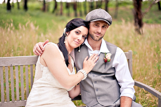 vintage inspired australian wedding025 Sigourney and Andrews Vintage Inspired Australian Wedding