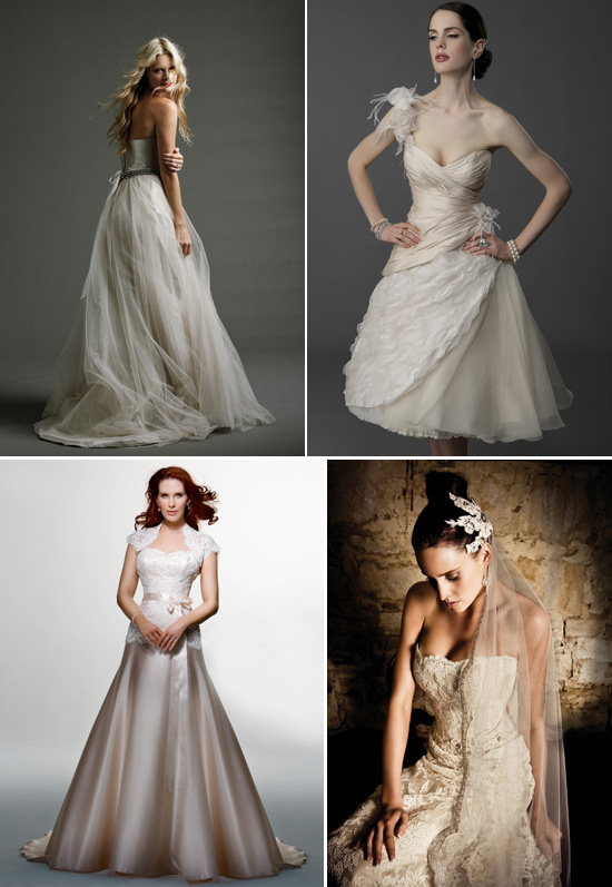 Champagne Wedding Dress Coloured Wedding Gowns 1 Johanna Johnson 2