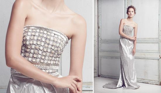 Collette Dinnigan Wedding Dress. gown. Collette Dinnigan