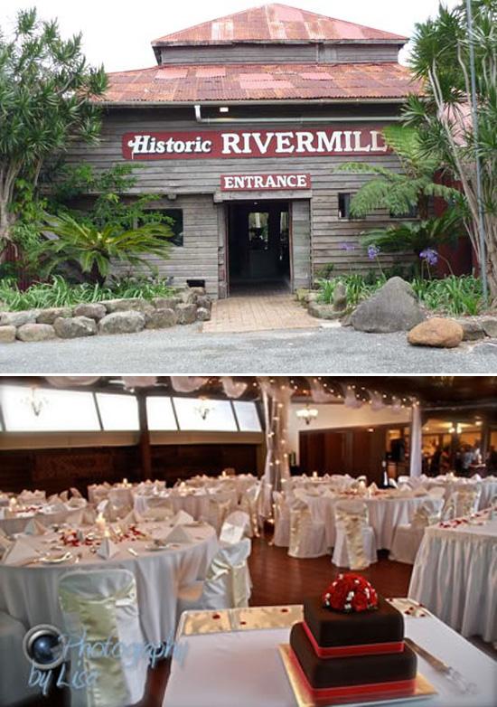 Historic Rivermill Rustic Queensland Wedding Venues