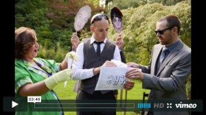 Tanya and Todd's Sweet Mountain Wedding Video   Polka Dot Bride