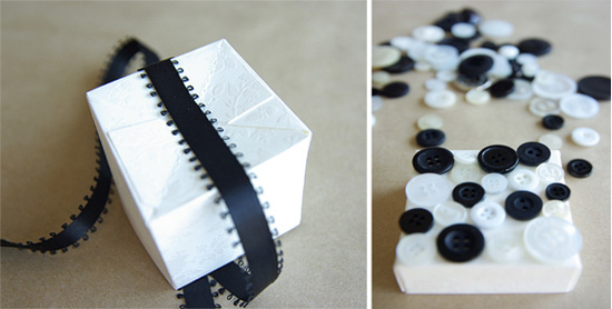 button boxes Button Cookie And Favor Box Tutorial