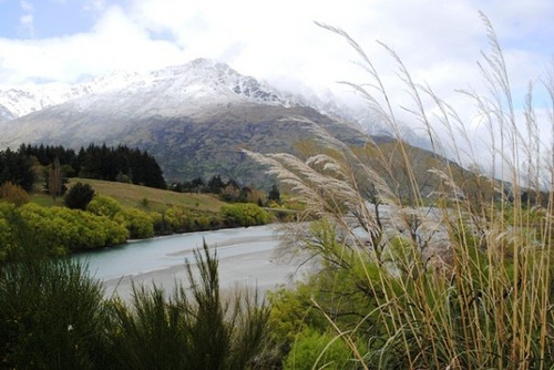 Shotover River Scenic Lookout, Queenstown, NZ