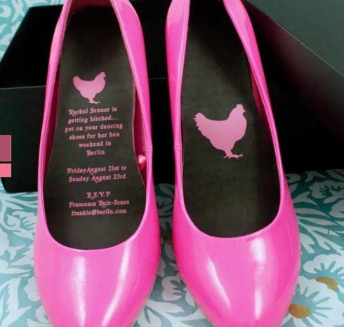 Not my hen's night ... but inventive!