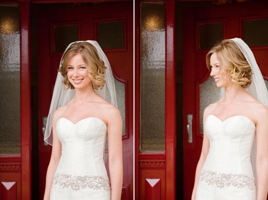 Von Short curly wedding hair Wedding Hair Inspiration Short Hair Styles