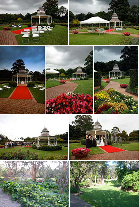 Wollongong Botanic Gardens Wollongong Wedding Venues