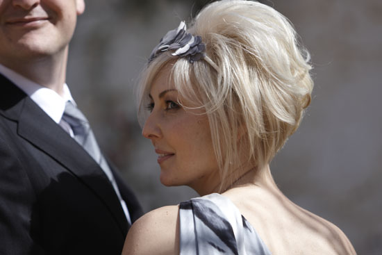 melissa anthony australian country wedding012 Wedding Hair Inspiration Short