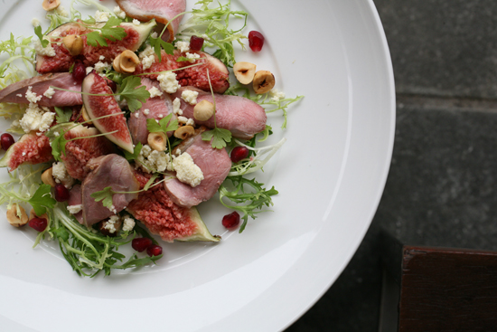 1Salad of Murringo lamb figs fetta and Mt Buffalo hazelnuts What Would They Know? Anthony Sullivan of Forte Catering & Events