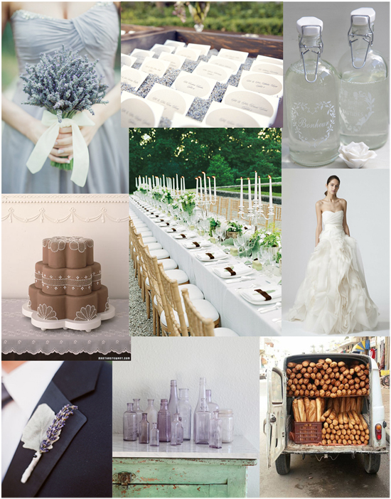 French Lavender Wedding French Lavender Fete