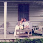 old time romance wedding