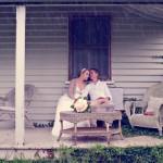 old time romance wedding
