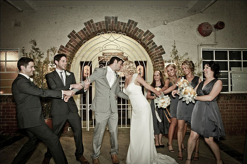 Bridal party fight