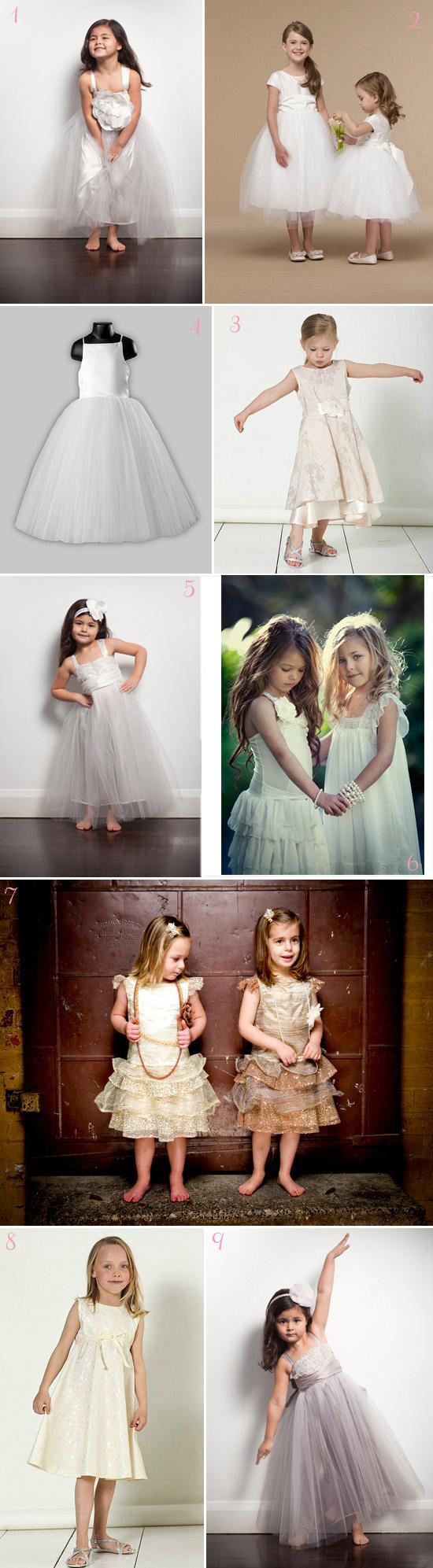 Flower Girl Dresses2 Fluffy Flowergirl Dresses