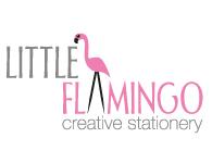 Little Flamingo Stationery