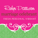 Robyn Pattison Civil Marriage Celebrant Bride banner