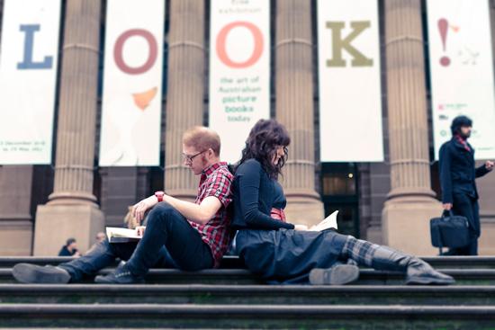 Urban Melbourne Engagement004 Sarah and Daves Urban Melbourne Engagement Shoot