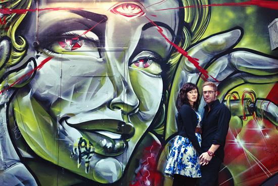 Urban Melbourne Engagement011 Sarah and Daves Urban Melbourne Engagement Shoot