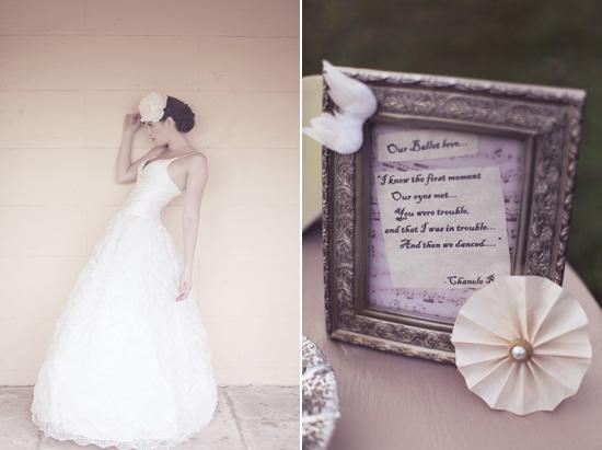 ballet wedding inspiration173 Ballet Wedding Inspiration