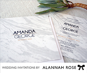 Alannah Rose Stationery Bride banner