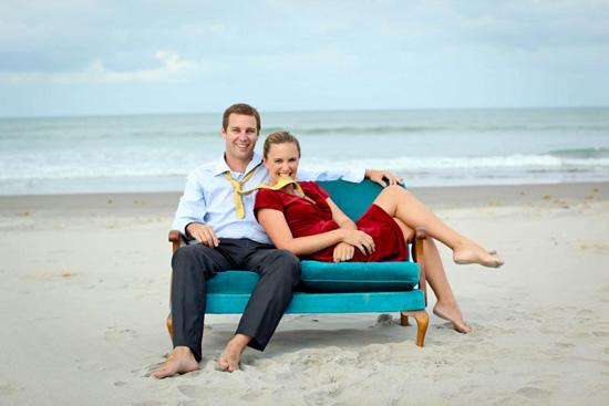 nova zelândia praia engagement022 Emily e Jeremys Nova Zelândia Engagement Praia Tiro