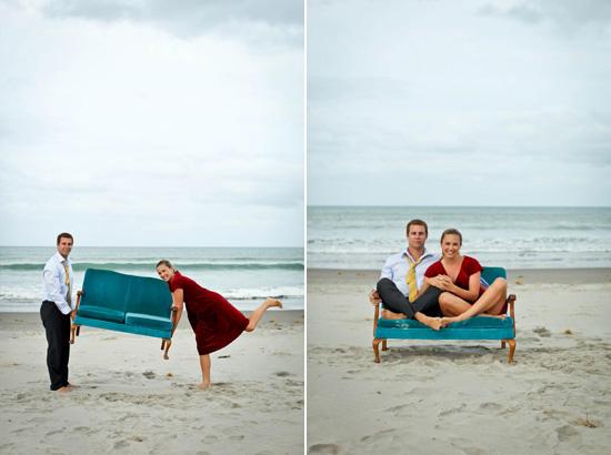 nova zelândia praia engagement056 Emily e Jeremys Nova Zelândia Engagement Praia Tiro