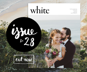 White Magazine Weddings banner